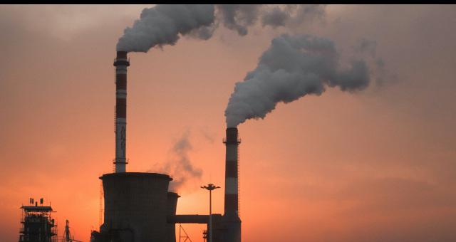 Petróleo Fábricas Indústria Poluição