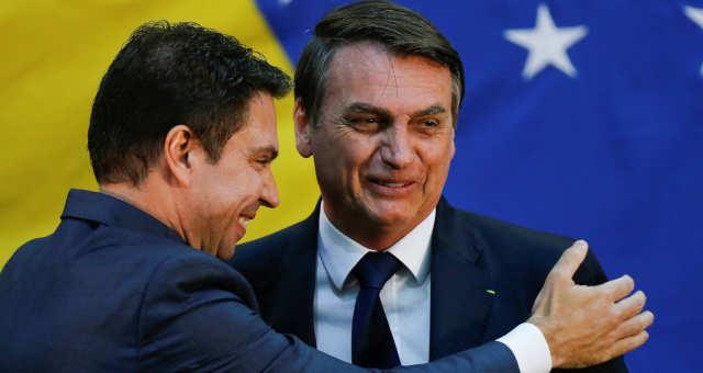 André Ramagem - Jair Bolsonaro