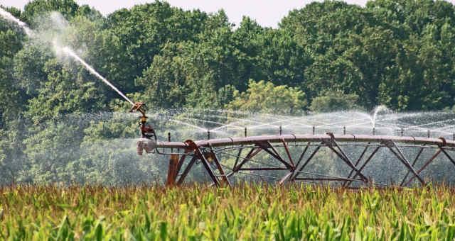 Irrigação Lavoura