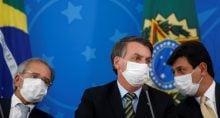 Jair Bolsonaro Mandetta e Paulo Guedes