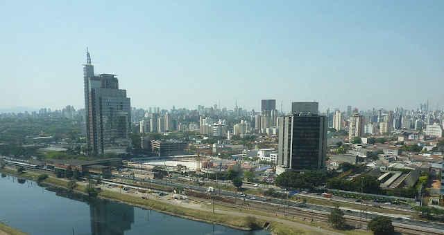 Marginal Pinheiros São Paulo Prédios Fundos Imobiliários