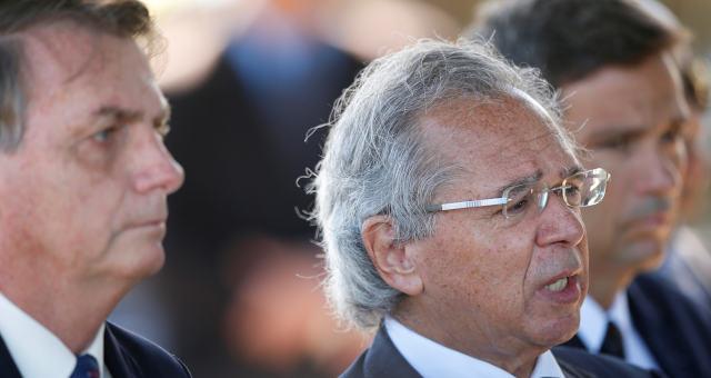 Paulo Guedes Campos Neto e Bolsonaro