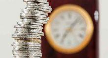 Relógio tempo dinheiro