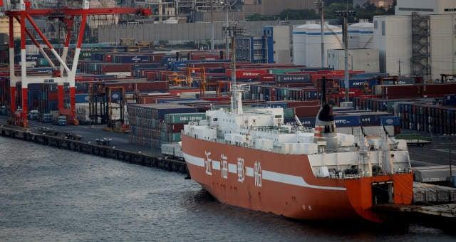 Portos Japão Exportações