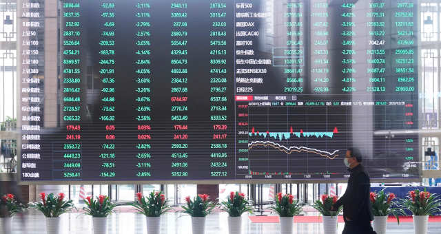 Ásia Mercados Xangai