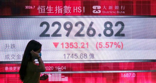 Mercados Ásia Hong Kong