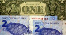 Moedas Real Dólar