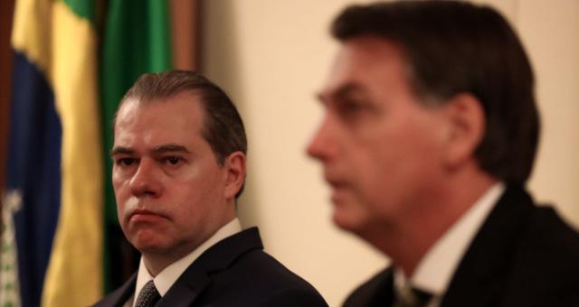 Dias Toffoli STF Jair Bolsonaro