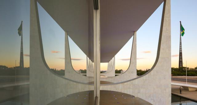 Palácio do Planalto Brasília Bandeira Brasil