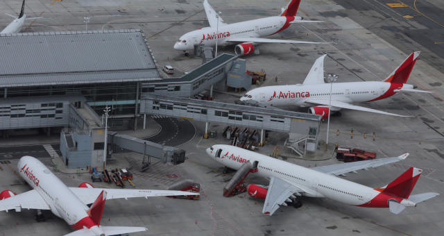 Avianca Aeroporto Avião