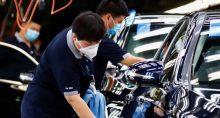 Indústria Ásia China Setor Automotivo Coronavírus Máscara