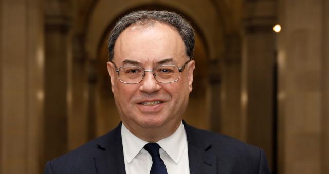 Banco da Inglaterra Andrew Bailey