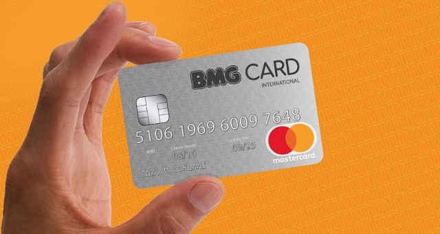 Cartão do Banco BMG