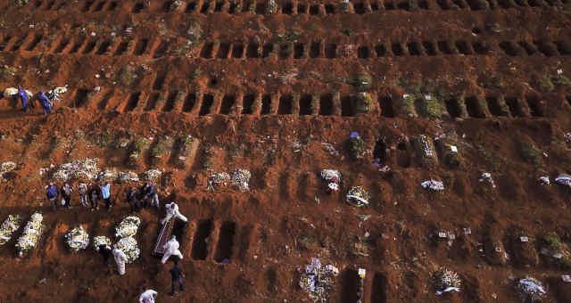 Mortes por coronavírus no Brasil podem ultrapassar 125.000 em ...