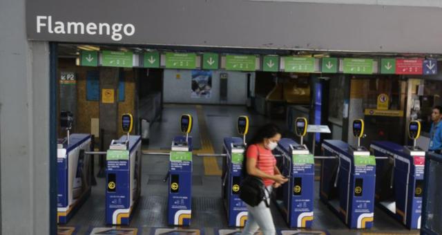Estação de metro Rio de janeiro