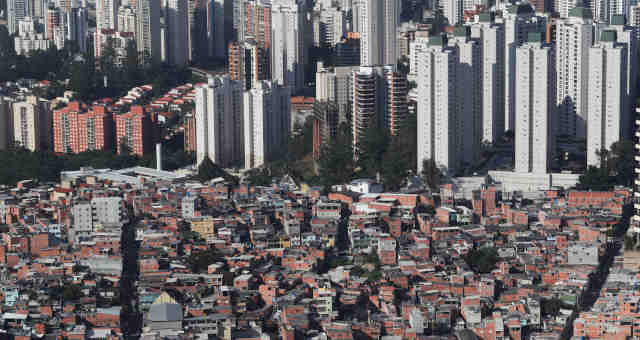 Favela Parasisópolis Desigualdade