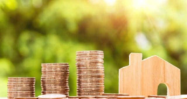 Moedas investimento casa imóvel renda