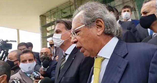 Jair Bolsonaro e Paulo Guedes 2