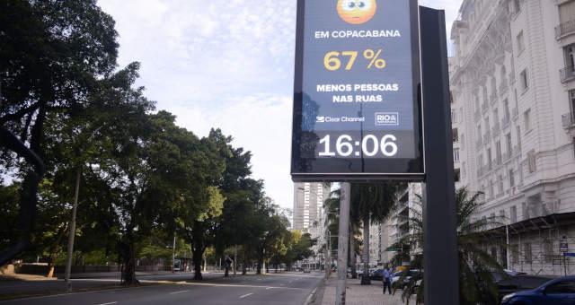 Rio de Janeiro, coronavirus ruas