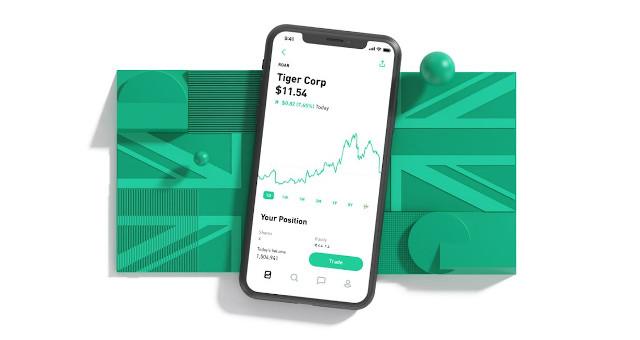 como investir no aplicativo cripto robinhood como você ganha dinheiro com ações?