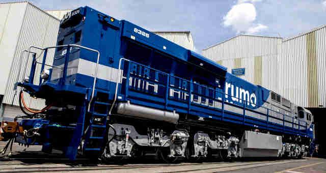 Locomotiva da Rumo (RAIL3)