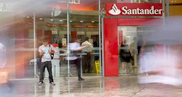 Agência do Santander Brasil SANB11
