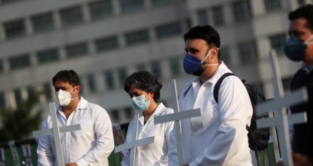 Enfermeiros coronavírus Saúde