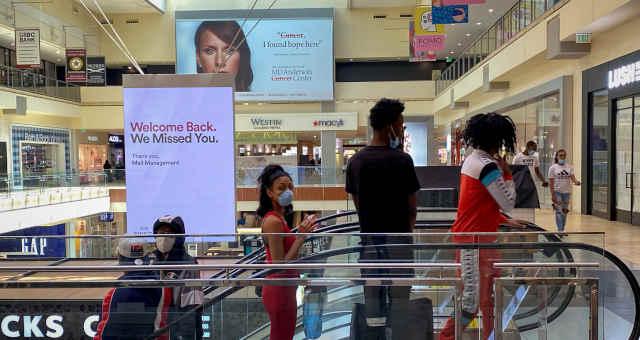 consumo varejo Shopping