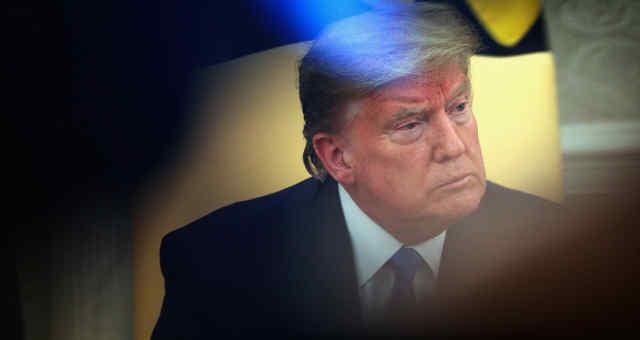 Presidente dos EUA, Donald Trump, durante evento na Casa Branca