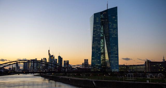BCE Banco Central Europeu Frankfurt Alemanha Europa