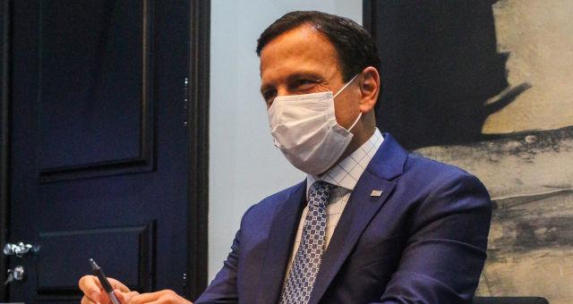João Doria Coronavírus Máscara