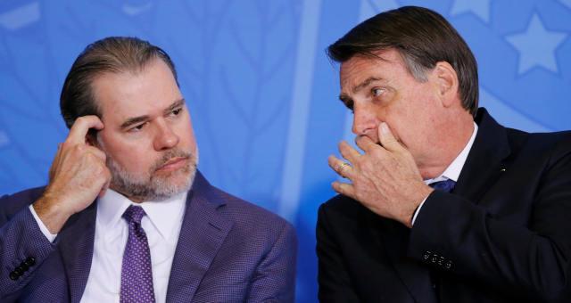 Dias Toffoli Jair Bolsonaro