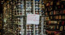 comercio de óculos