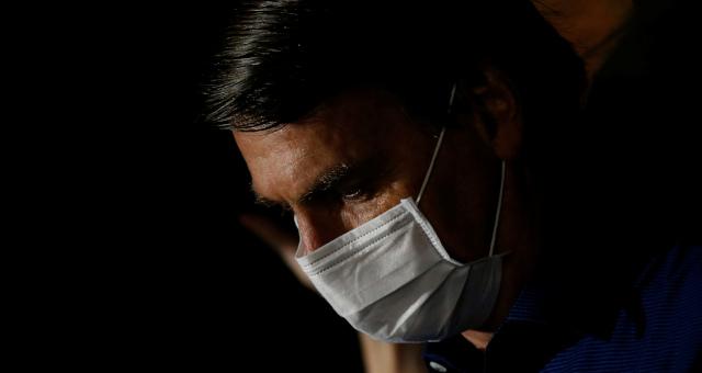 Jair Bolsonaro Coronavírus Máscara