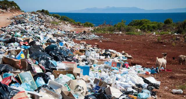 Lixo Poluição Plástico