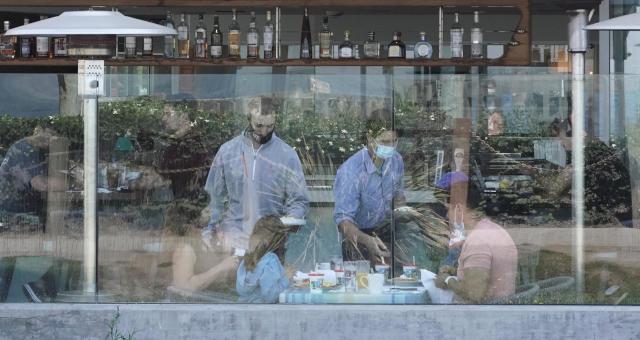 Serviços Restaurantes Consumo Coronavírus