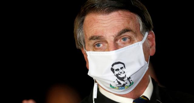 Jair Bolsonaro Máscara Coronavírus