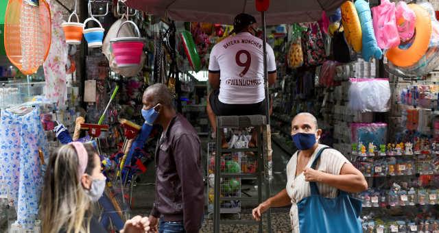 Varejo Consumo Coronavírus Máscaras
