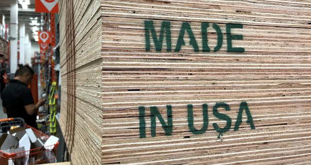 EUA Fábricas Manufatura