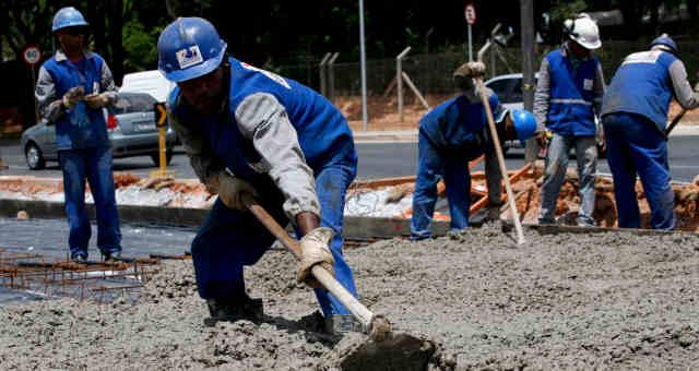 cimento construção civil