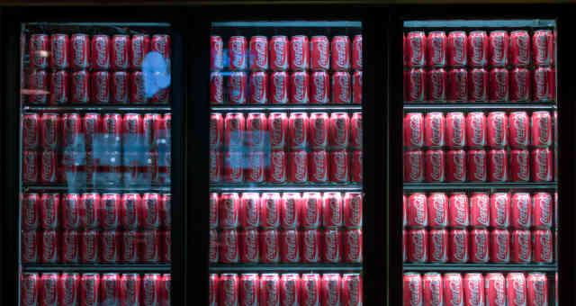 Coca Cola Geladeira
