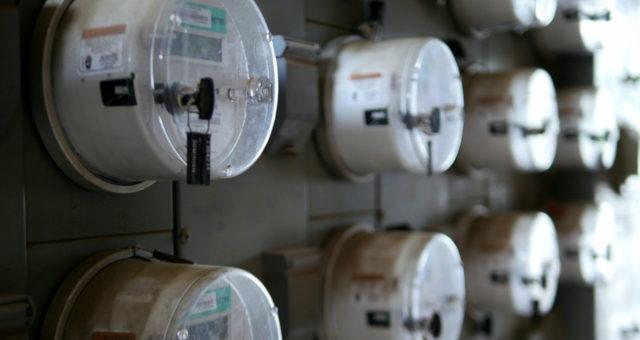 Energia Elétrica Relógio de Luz
