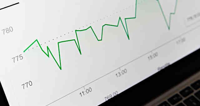mercados gráfico ações bolsa investimentos