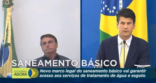 Jair Bolsonaro Saneamento