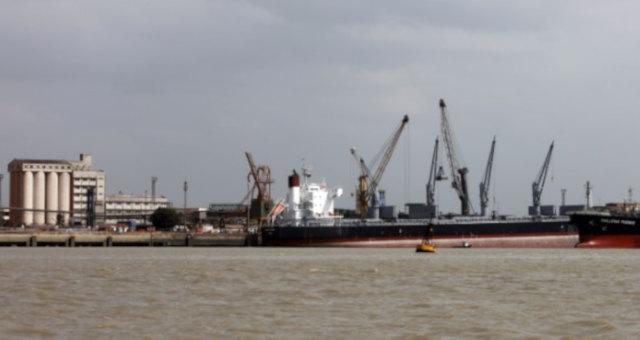 Porto de Itaqui, em São Luís (MA)