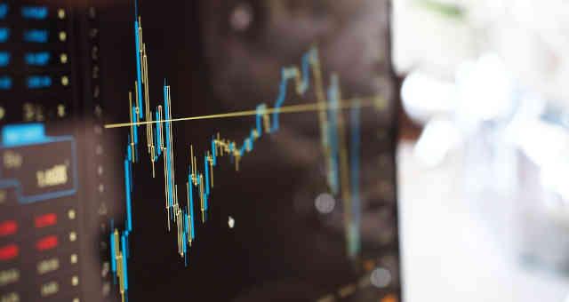 gráfico mercados ações bolsa