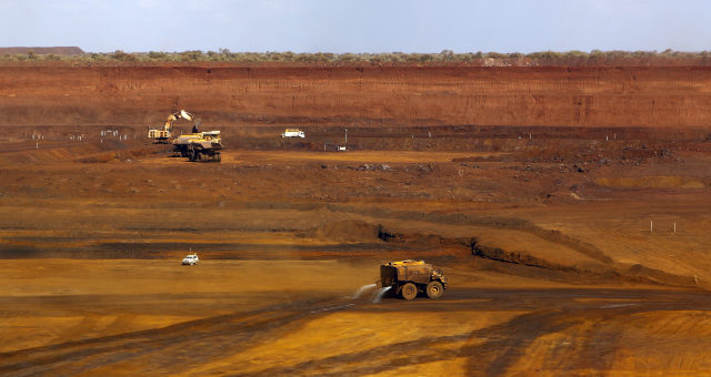 Fortescue Mineração Minério de ferro