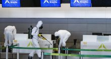Aeroportos Coronavírus