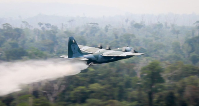 Força Aérea Brasileira Incêndios Amazônia