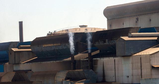 Indústria Fábricas Poluição